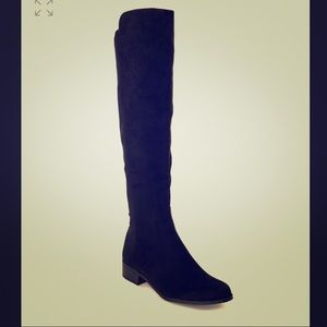 Unisa Black Over The Knee Boots Size 7
